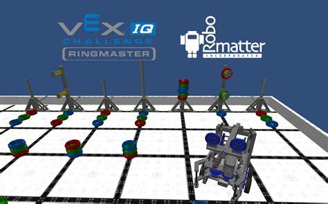 Vex Iq Challenge Ringmaster Robot Virtual World Now