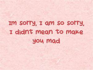I'm Sorry Quotes - Apology Quotes - lovequotesmessages