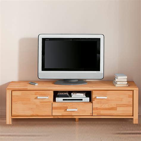 tv board massiv tv lowboard tv board tv rack in kernbuche massiv ge 214 lt ebay