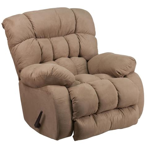 Microfiber Recliner by Flash Furniture Contemporary Softsuede Taupe Microfiber
