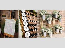 Wedding Ideas Alternative Seating Plan Presentation