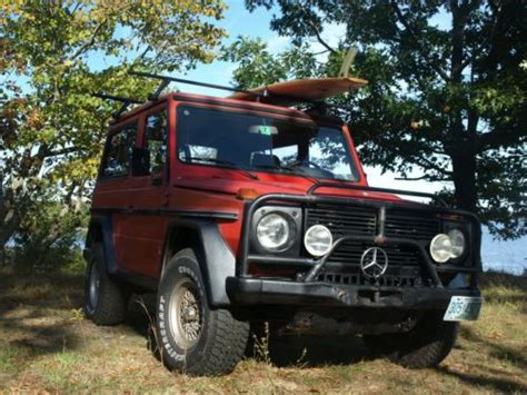 I was upset at first but was greeted. Find used 1979 Mercedes Benz Diesel G Wagon, G class, 300GD in Newmarket, New Hampshire, United ...
