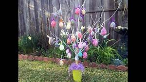 How, To, Make, An, Easter, Egg, Tree, Tutorial