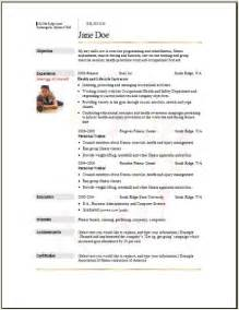 resume templates for professional athletes sports fitness resume occupational exles sles free edit with word