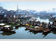 How People Live in Wuzhen, Images of Wuzhen Water Town