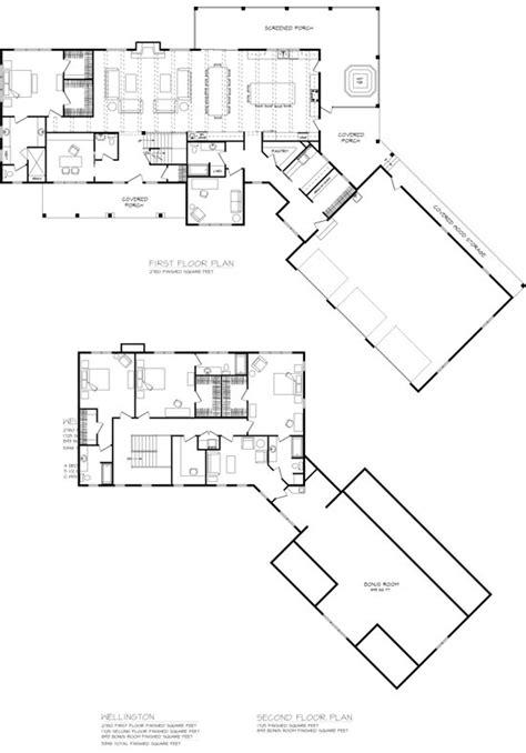 wellington timber home floor plan  wisconsin log homes
