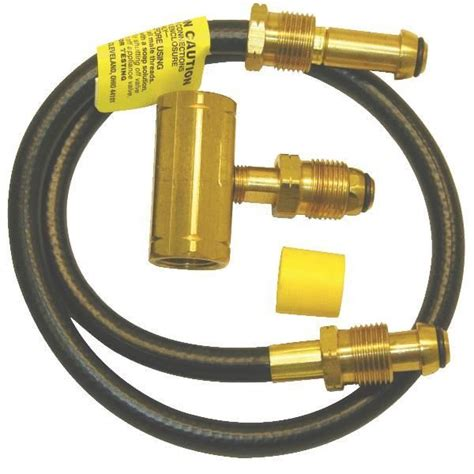 how to hook up a hose to a kitchen sink mr heater f273737 propane hose kit 2 tank hook up kit in 9960