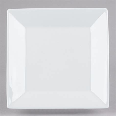 Viereckige Teller by 8 Quot Bright White Square Porcelain Plate 24