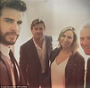 Liam and Chris Hemsworth share family photos at The ...