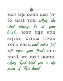 Printable Irish Blessings