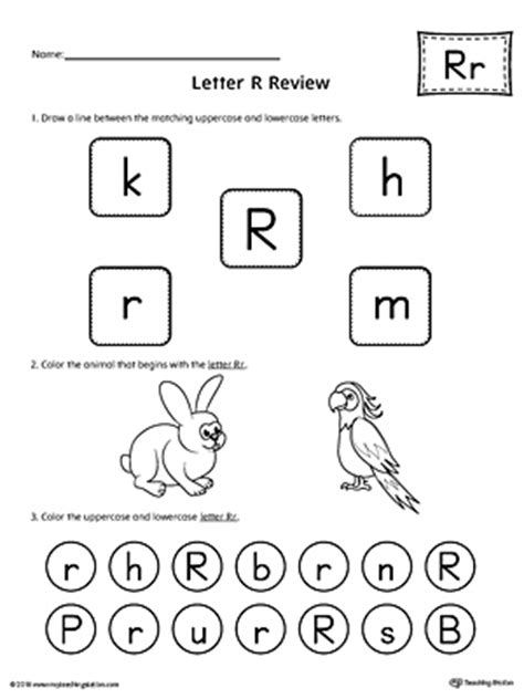 letter r preschool activities all about letter r printable worksheet myteachingstation 446