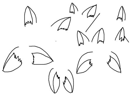 practice drawing dog ears  expertofanime  deviantart