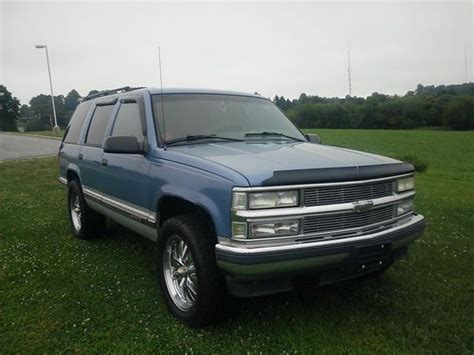Find Used 95' Chevy Tahoe Lt 4x4*very Sharp*runs Excellent