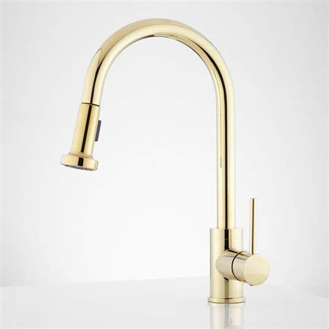 modern faucets for kitchen sink faucet design bainbridge modern brass kitchen