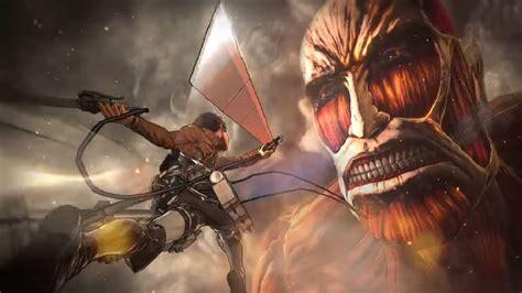 attack  titan ps game confirmed  koei tecmo