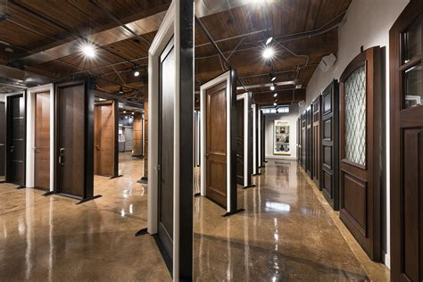 glenview haus showroom custom front  interior doors