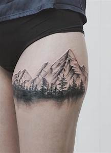 Tatouage Paysage Montagne : 17 best ideas about watercolor wrist tattoo on pinterest girl wrist tattoos watercolor ~ Melissatoandfro.com Idées de Décoration