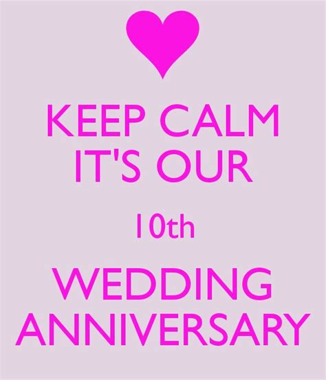 10th wedding anniversary 19 best images about 10th anniversary ideas on pinterest wedding anniversary quotes keep calm