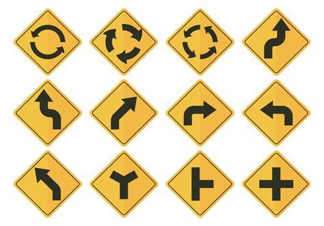 Download icon font or svg. Road Sign Arrow Vectors - Download Free Vector Art, Stock ...