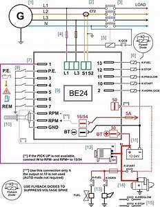 Be24 Generator Controller Connections