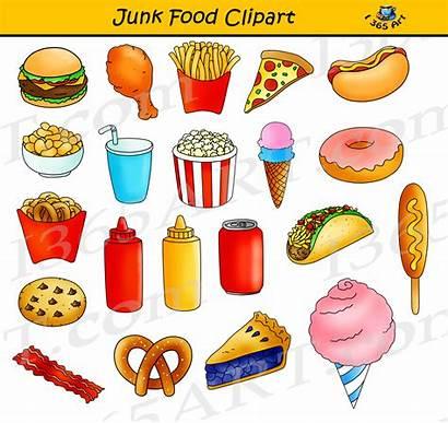 Junk Clipart Healthy Vs Fast Graphics Commercial
