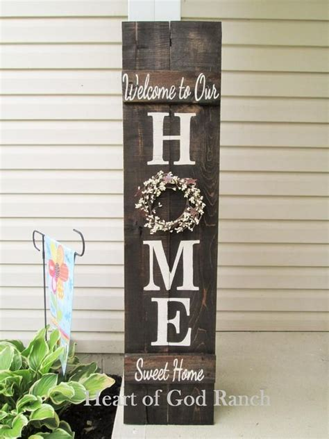 home porch sign  wreath personalized pip berry
