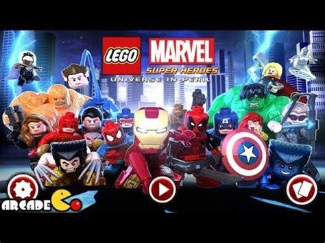 lego marvel super heroes universe  peril part