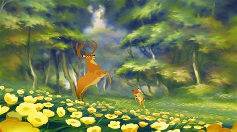 bambi hd background  tablet cartoons wallpapers