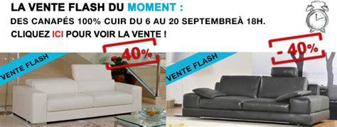 vente flash canape canapés cuir en vente flash c 39 est parti pour 40
