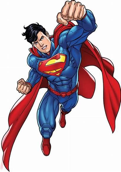 Superman Cartoon Transparent Background Clipart Super Flying