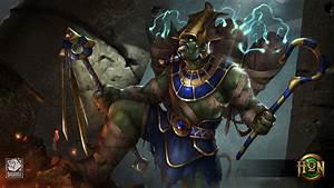 Osiris Electrician Wallpaper Heroes of Newerth Lore