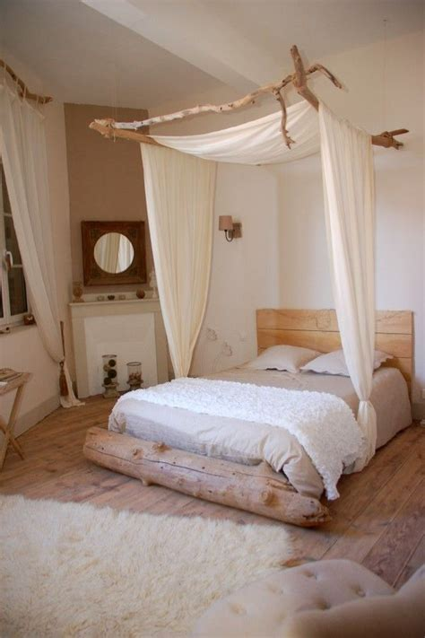 decoration chambre nature id 233 es d 233 co un ciel de lit pour une chambre boh 232 me et