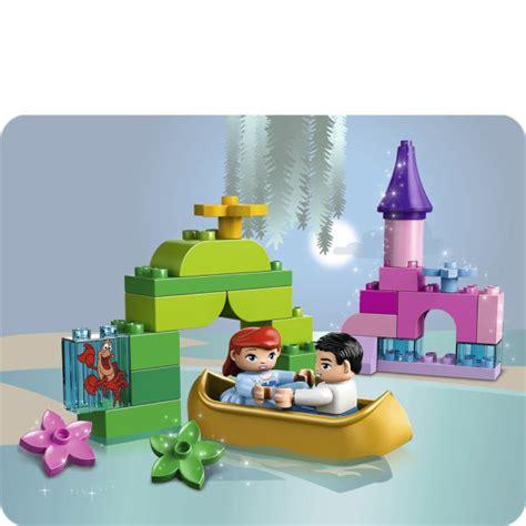Lego Ariel Boat by Lego Duplo Ariels Magical Boat Ride 10516 Toys Zavvi