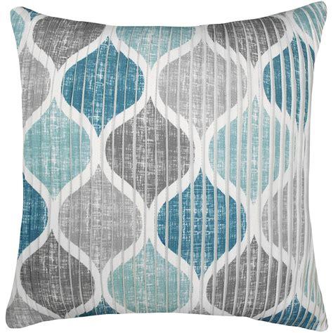 hollis throw pillow    aquatealgrey  home