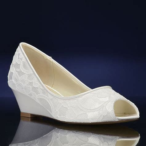 wedge shoes for wedding best 25 wedge wedding shoes ideas on bridal 1236