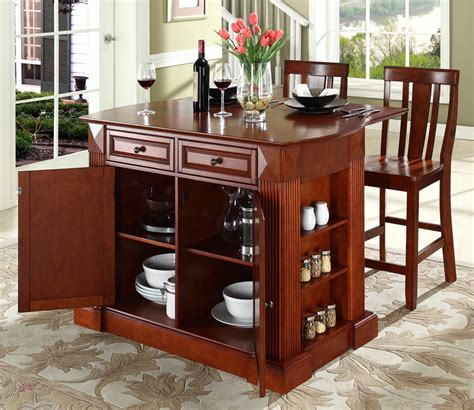 portable kitchen island bar the ideas of decorating kitchen with two tone kitchen cabinets kitchen remodel styles designs