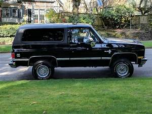 1 Owner Black 1988 K5 Blazer 4wd Only 41 158 Original Miles For Sale
