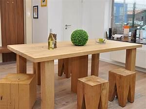 Rustikale Esstische Holz : esstische gestaltung in holz ~ Michelbontemps.com Haus und Dekorationen
