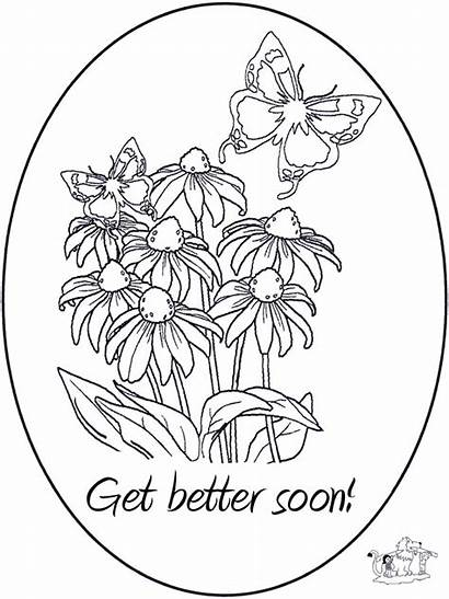 Coloring Soon Well Pages Better Feel Card