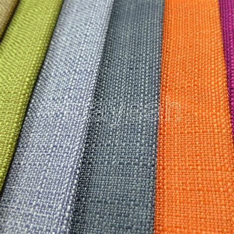 Linen Look Upholstery Fabric Swatches