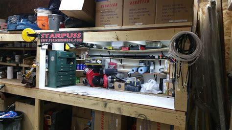 shop update  led workbench lights youtube