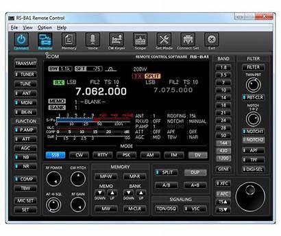 Ham Software Control Icom Ba1 Shack Rs