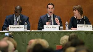 Competing Florida Democratic governor candidates appear ...