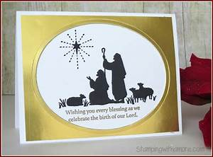 Stampingwithamore Foiled Every Blessings Christmas Card