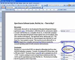 removing editor comments word 2003 With word documents editor