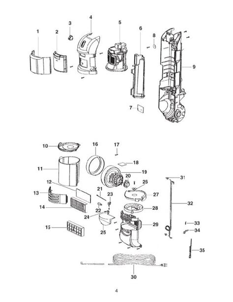 Eureka 2961bvz Vacuum Parts