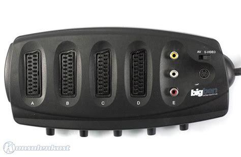 Specials Scart Adapter  Verteiler 4fach + Cinch Eingang