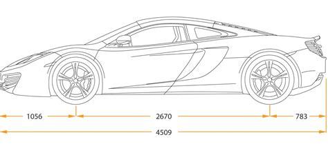 lamborghini sketch side car drawings side view