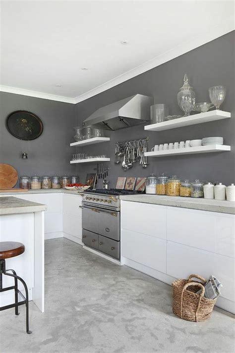 peinture pour cuisine grise les 25 meilleures idées concernant décoration de cuisine