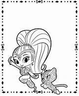 Shine Shimmer Coloring Pages Tiger Printable Coloriage Print Sheets Et Cartoon Imprimer Dessin Haunted Monster Daughter Mother Getcoloringpages Carnaval Carpet sketch template